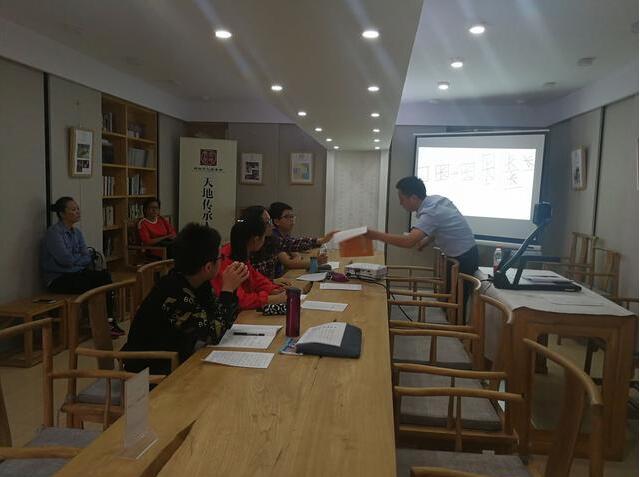 2017年12月朱春晖老师讲授成人练字培训
